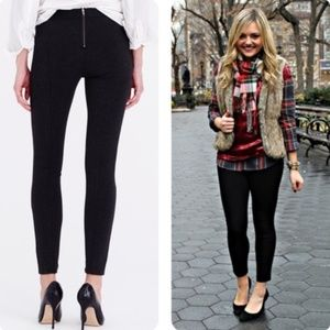 J. Crew Pixie pant in black